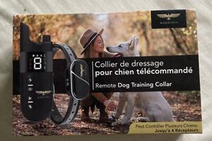 collier de dressage pour chien Telecomandé Etanche