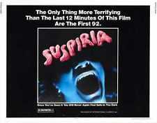 Suspiria Poster 02 Metal Sign A4 12x8 Aluminium