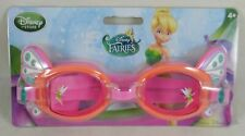 Genuine Disney Store Peter Pan Fairies Tinker Bell Swim Goggles Ages 4+