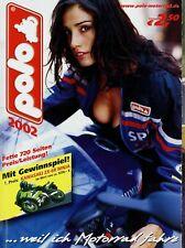 Polo Katalog 2002 720 S. Motorradzubehör Helme Jacken Handschuhe Protektoren u.a