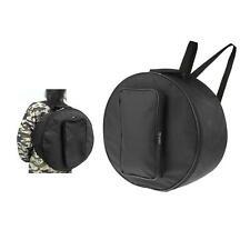 Black Snare Drum Bag with Shoulder Strap, Outside Handle Instrument Parts