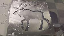 Alaska Stainless Steel Metal Trivet 2 pieces Moose Laser Cut ships worldwide!