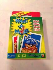 Mattel Card Game Whac-A-Mole ages 5+ 2 -4 players From Makers Of UNO NEW/SEALED