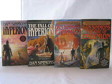 Hyperion Cantos Series #1-4: Books by Dan Simmons (Complete Set) MM Paperback