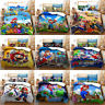 Super Mario Collection Single/Double/Queen/King Bed Quilt Cover Set
