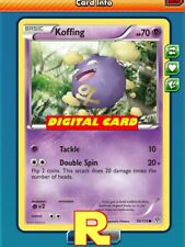 4x Koffing (70 HP) - for Pokemon TCG Online (DIGITAL ptcgo in Game Card)