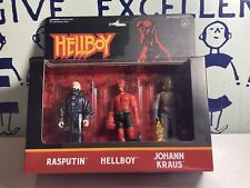 ReAction Hellboy Series 2 Rasputin, Hellboy & Johann Kraus Action Figure 3-Pack
