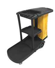 Bk Janitorial Cleaning Cart Rolling Janitor Ultility Cart Withcover 051300 Bai