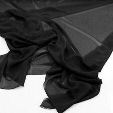 feiner CHIFFON Stoff weich fallende Meterware für Kleidung Gardine Vorhang Deko