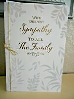 With deepest sympathy to all the Family -  Sympathy - Always here for you Card