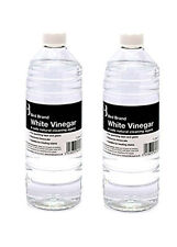 2 X 1 Ltr White Vinegar Non Toxic Limescale Remover Glass Cleaner Stain Remover