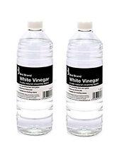 2 X 1 Ltr White Vinegar Non Toxic Limescale Remover Glass Cleaner Stain Remover