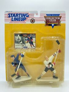 1996 Kenner Starting Lineup Collector Club NHL Bobby & Brett Hull Figure 2-Pack
