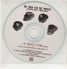 (GU39) The Bird & The Monkey, If Love's A Cure - DJ CD
