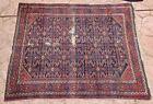 """Antique Tribal Caucasian Wool Carpet Rug Geometric Nomadic kazak 72""""x57"""""""