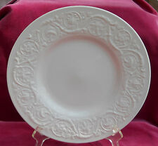 "WEDGWOOD PATRICIAN OFF WHITE LUNCHEON PLATES 9 1/4"" OLD MARK PLAIN CREAM"