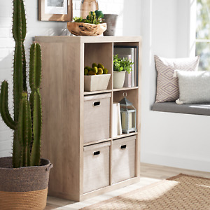 Contemporary 6-Cube Storage Organizer   Book Shelf