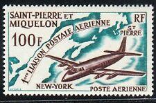 ST. PIERRE & MIQUELON STAMP Sc# C28. 1964