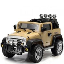 Auto elettrica per bambini 12v jeep con telecomando Macchina fuoristrada suv