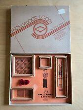 Vintage Hollywood Loom Lap Hand Weaving Set Kit Style Mode With Original Box