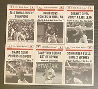 1969 TBT Topps Throwback Thursday Cubs 2016 World Series Card Print Run 684