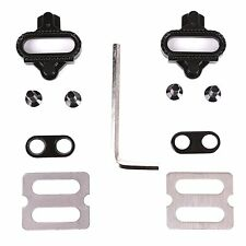 VINQLIQ Bike Cycling Self-locking Plate Pedal Cleats for MTB SPD Shoes and Pedal