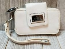 Nicole by Nicole Miller Womens Mini Wallet Wristlet White - BIN6