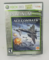 Ace Combat 6: Fires of Liberation (Microsoft Xbox 360, 2007) Complete