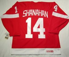 BRENDAN SHANAHAN  Medium  Detroit Red Wings CCM 550 VINTAGE series Hockey Jersey