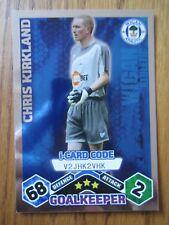 Match Attax 2009/10 i-card - Chris Kirkland of Wigan Athletic