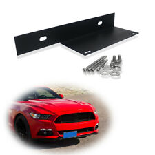 For 2015-2017 Ford Mustang Front License Plate Fastener Mounting Bracket w/Bolt