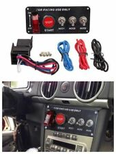 12V LED Ignition Car Switch Panel Engine Start Push Button Carbon Racing Car