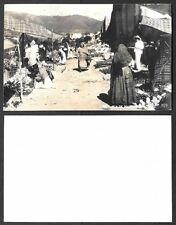 Old Mexico Real Photo Postcard - Dia de Plaza