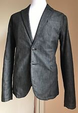 NWT $880 Armani Collezioni Sport Coat Jacket Dark Gray 44R US (54R Euro)