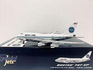 Gemini Jets 1:400 PanAm BOEING 747SP N532PA GJPAA291