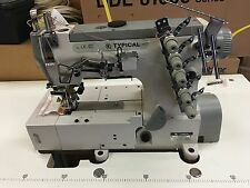 NEW TYPICAL GK33500 COVERSTITCH INDUSTRIAL SEWING MACHINE ENERGY MOTOR +LIGHT