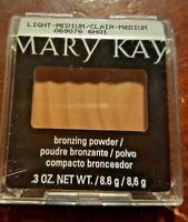 Mary Kay BRONZING POWDER Light to Medium *FREE SHIPPING* DISCONTINUED