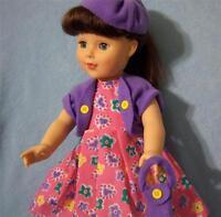 "LOT Girl Doll Clothes Dress fits 18"" * Battat Gotz Madame Alexander Buy American"