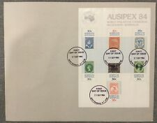 1984 Ausipex Miniature Sheet Fdc (large)