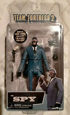 "NECA Team Fortress 2 BLUE The Spy Action Figure, 7"" NIB Free Shipping"
