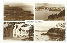 Portree, Isle Of Skye Multiview RP PPC, Local 1959 PMK, Shows Royal Hotel, Etc