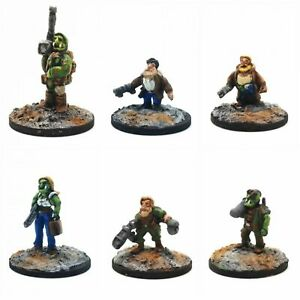 Cyberpunk Fantasy - 15mm Sci-fi Miniatures by Boon Town Metals
