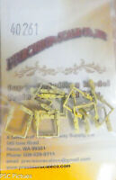 Precision Scale O #40261 Freight Car Stirrups, On3 (Brass Castings) 12 in pkg