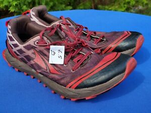 ALTRA Zero Drop Inner Flex Gaiter Trap Men's Running shoes A1652-1 US Size 9.5
