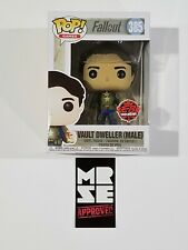 Funko Pop! Fallout Vault Dweller Male #385 EB Games Exclusive New