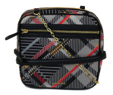 Vera Bradley Women's Black Sofia Plaid Elena Crossbody Purse Bag Ret $118 New