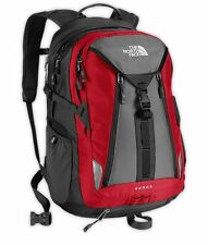 New With Tags The North Face Surge Backpack Laptop Approved Red