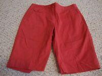 Women's TALBTOTS PETITES stretch shorts, 6