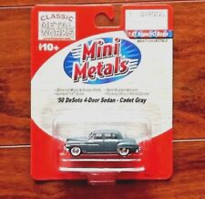CLASSIC METAL WORKS 1/87 HO 1950 DE SOTO 4-DOOR SEDAN CADET GRAY ITEM #30315 F/S