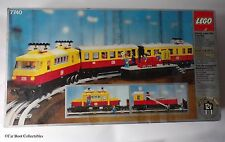 Vintage 1980 Lego 7740 InterCity Passenger Train Railway set - EMPTY BOX + TRAYS